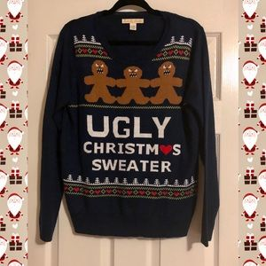 Ugly Christmas Sweater 🎄 Angry Gingerbread Men